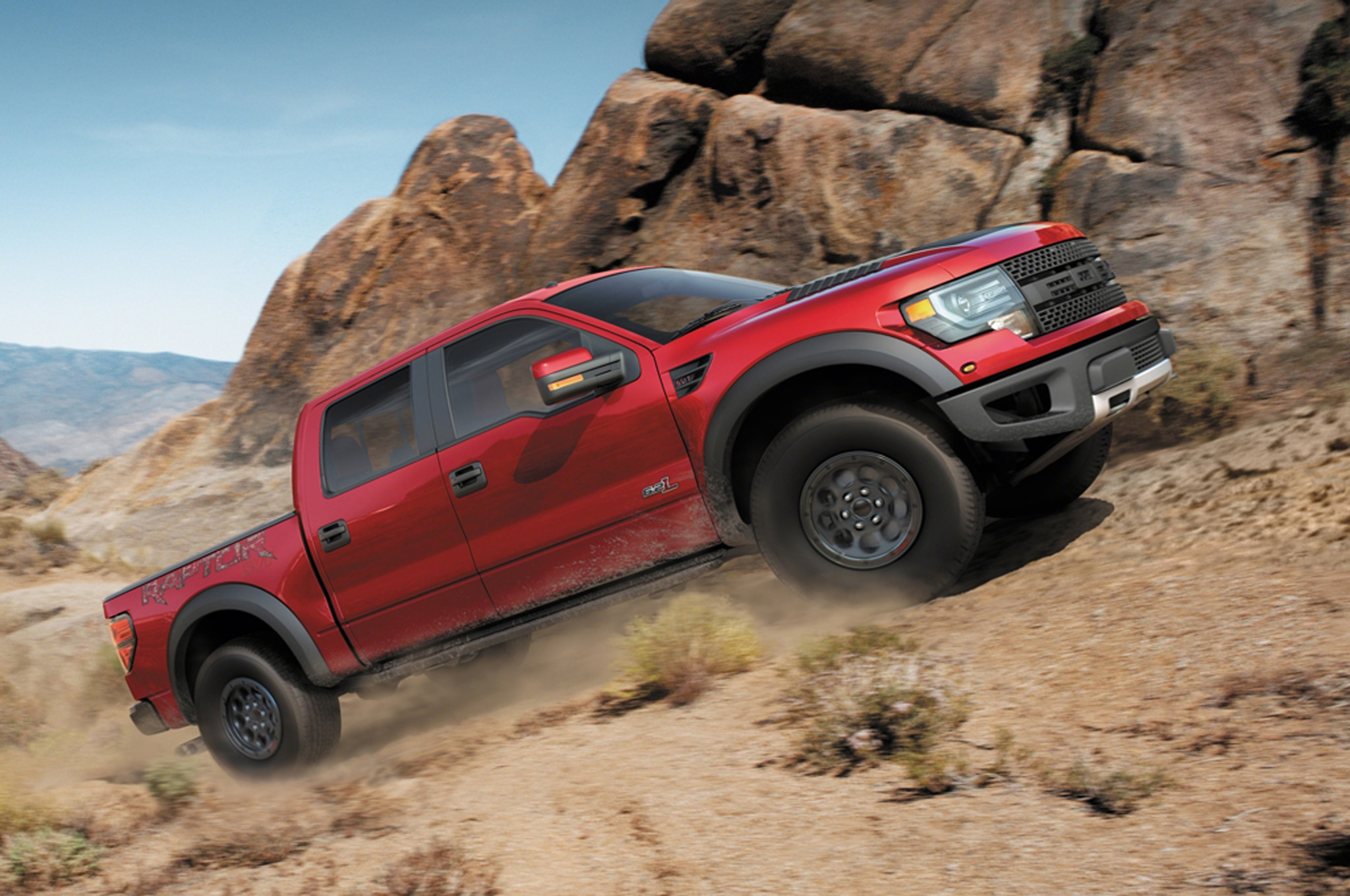 2014 Ford F150 Svt Raptor Profile1