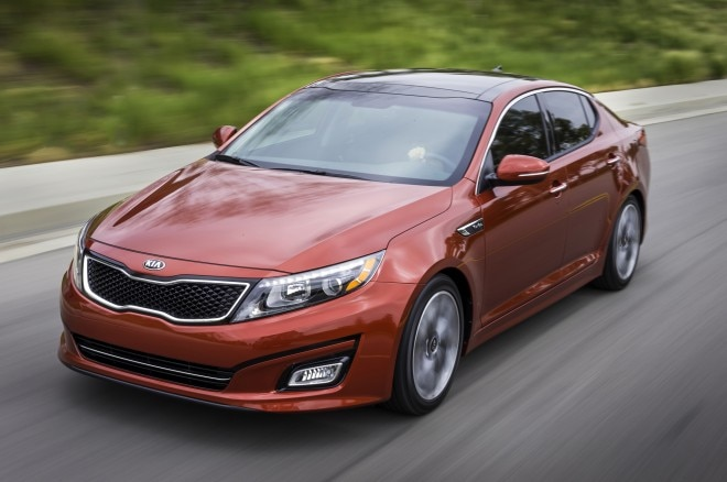 2014 Kia Optima Front Three Quarters1 660x438