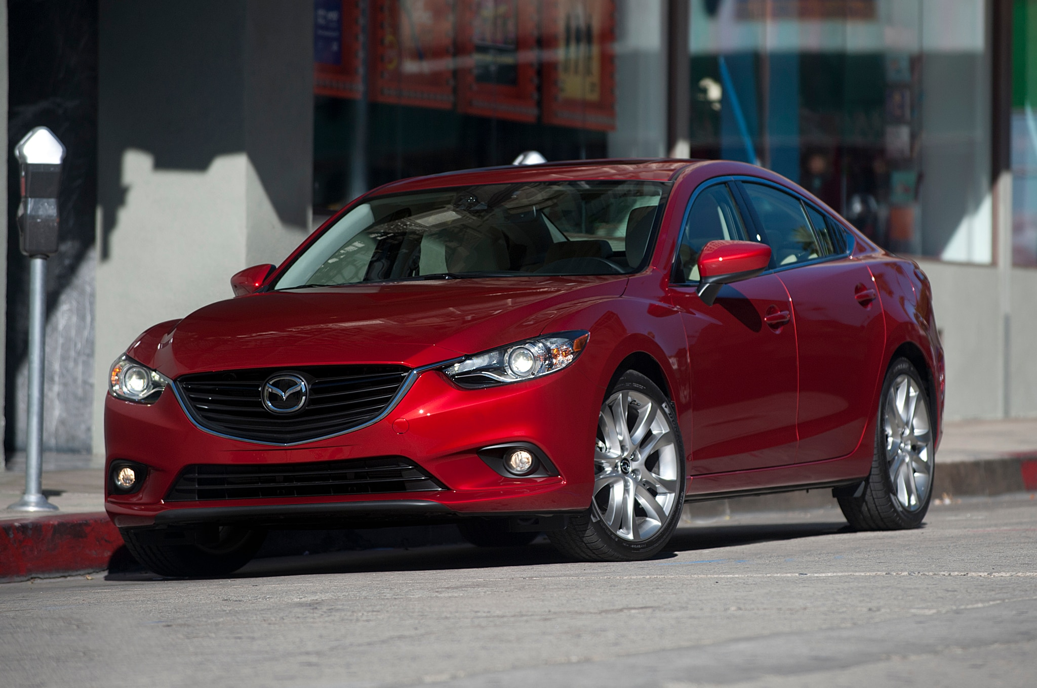 2014 Mazda 6 Front Three Quarters1