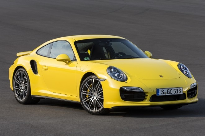 2014 Porsche 911 Turbo Front Three Quarters1 660x438