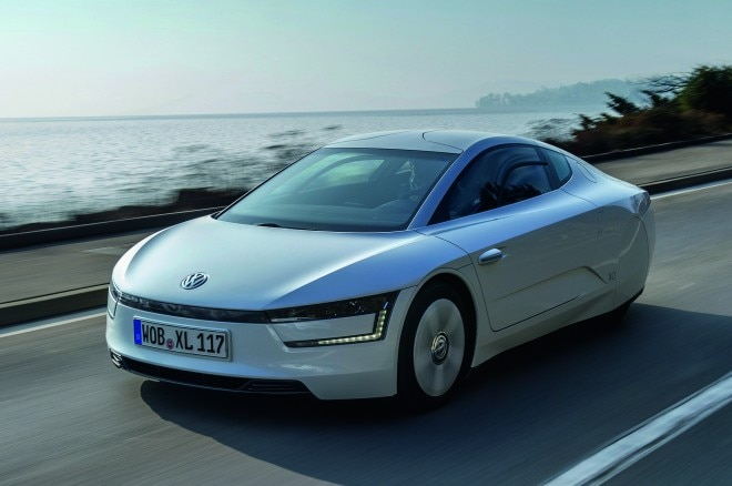 2014 Volkswagen Xl1 Front Three Quarters 21 660x438