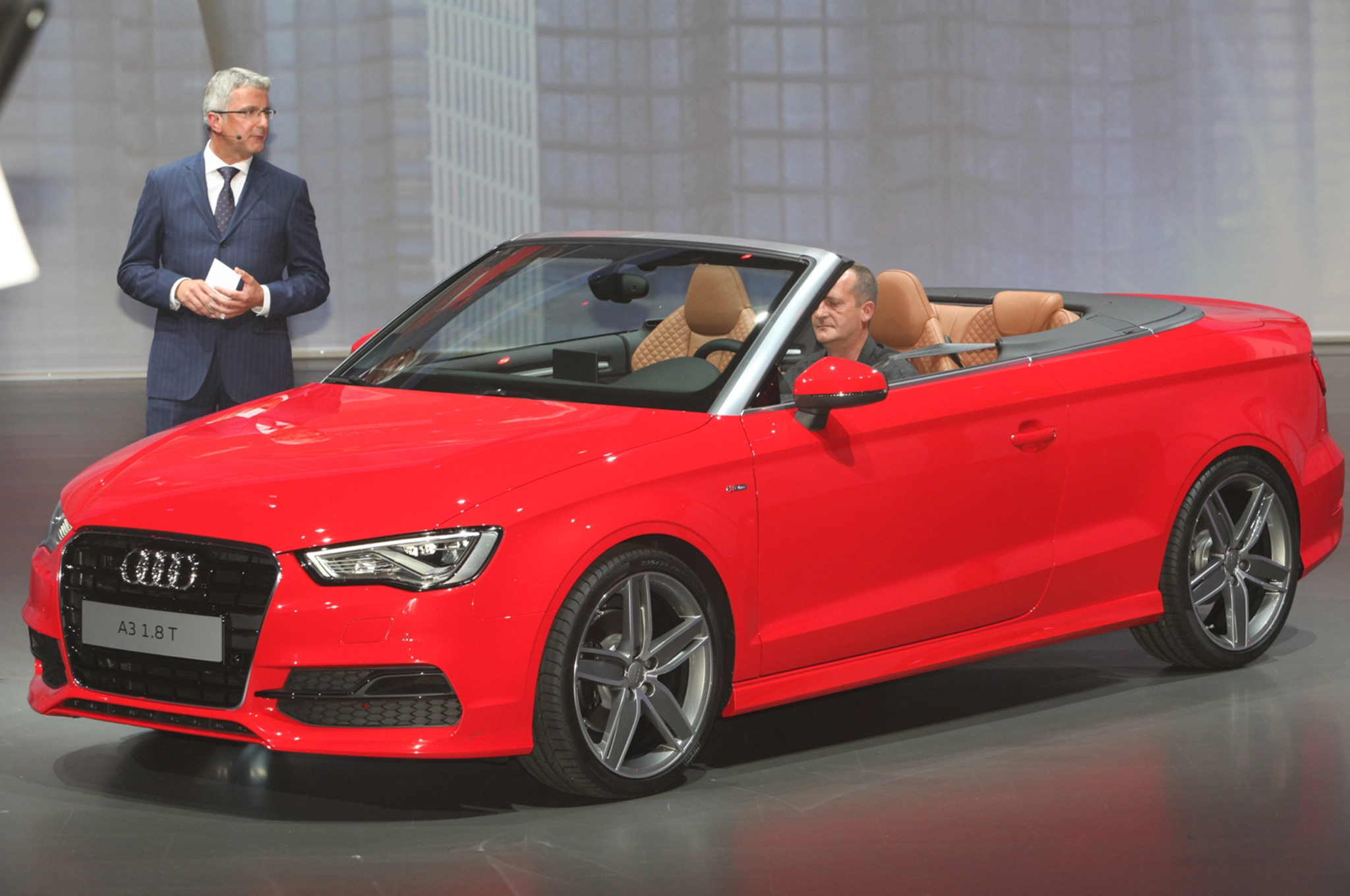 2015 Audi A3 Cabriolet Front Three Quarters1