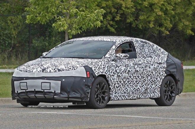 2015 Chrysler 200 Prototype Front Three Quarter1 660x438