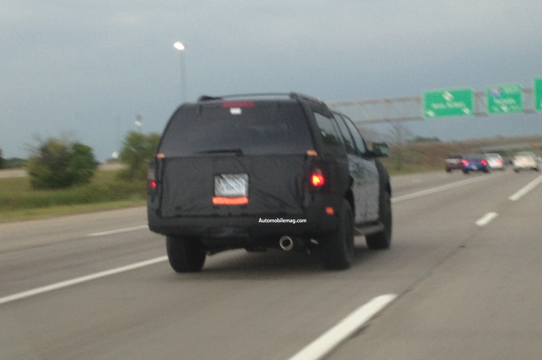 2015 Ford Expedition Spied Rear Three Quarter 11