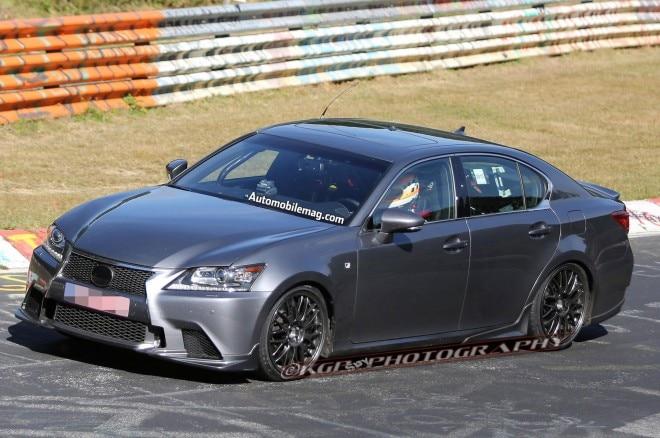 2015 Lexus GS F Prototype Front Left Side 021 660x438