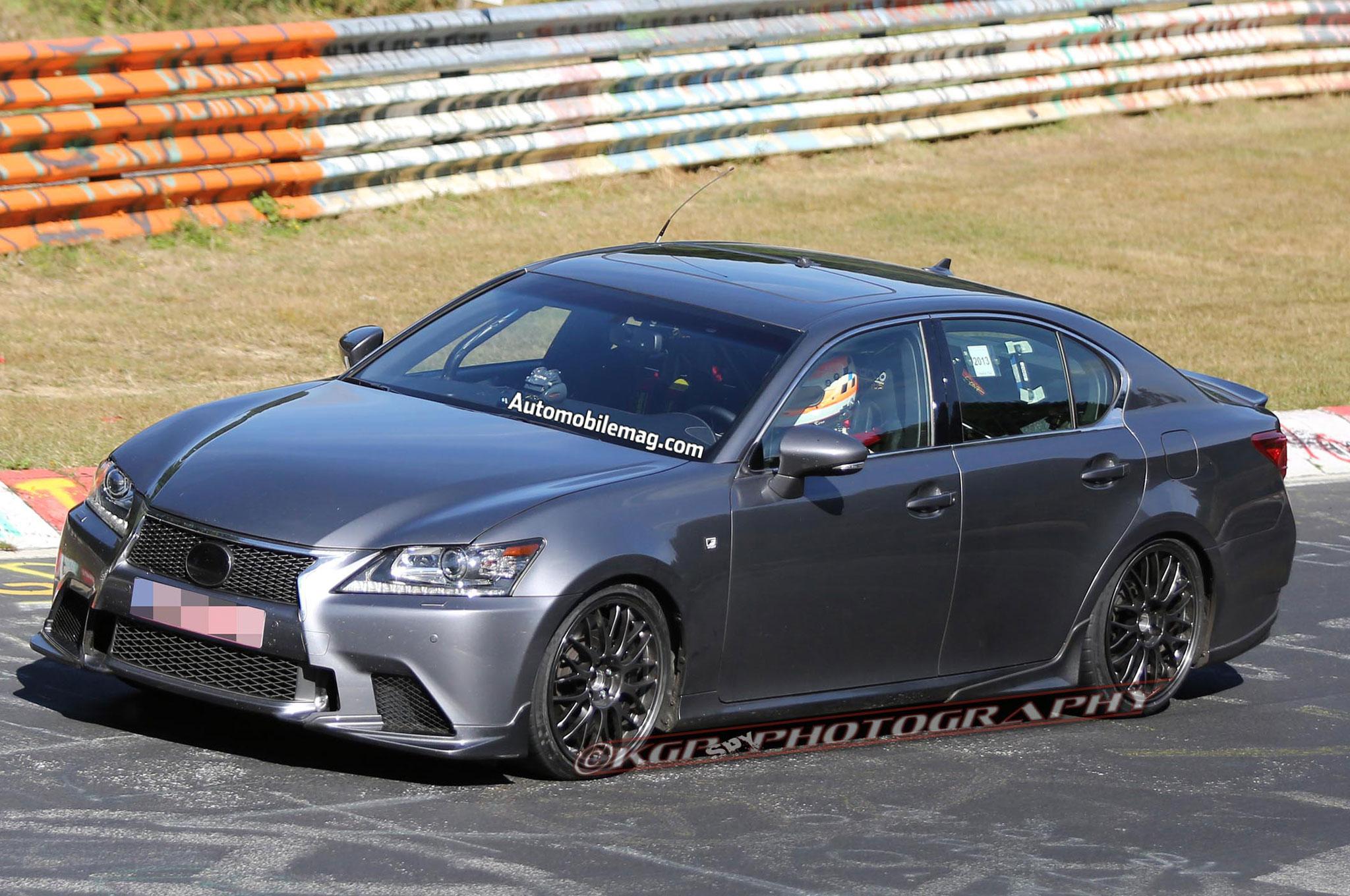 2015 Lexus GS F Prototype Front Left Side 021