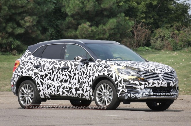 2015 Lincoln MKC Spied Front Three Quarter 21 660x438