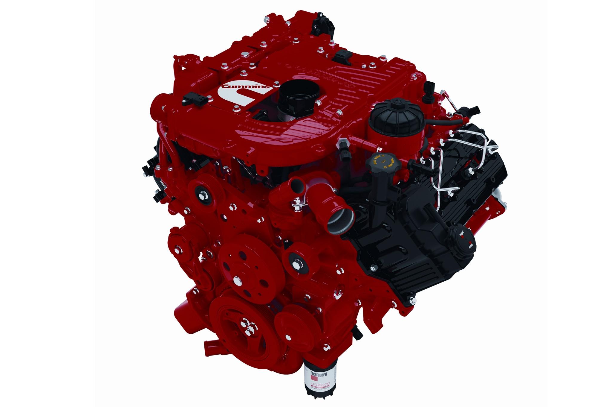 2015 Nissan Titan Cummins Diesel V 8 Engine View1