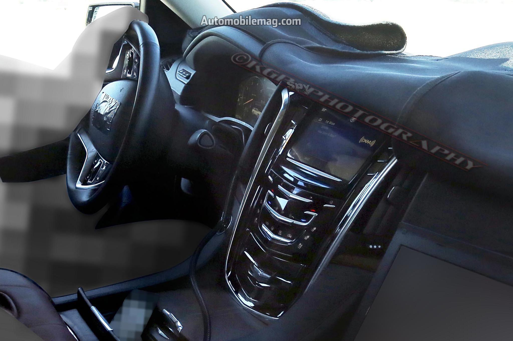 2015 Cadillac Escalade Spied Dashboard 21