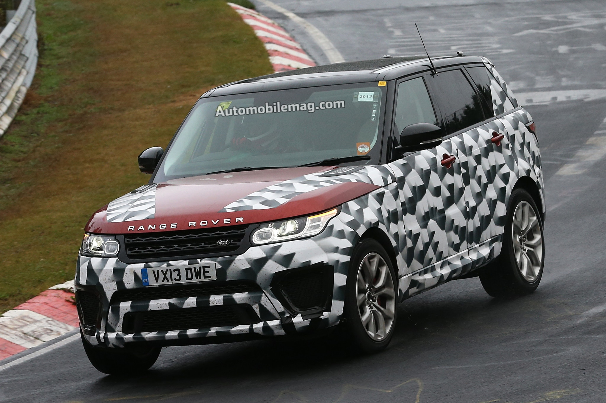 2015 Range Rover Sport Rs Left Front Banked Turn1