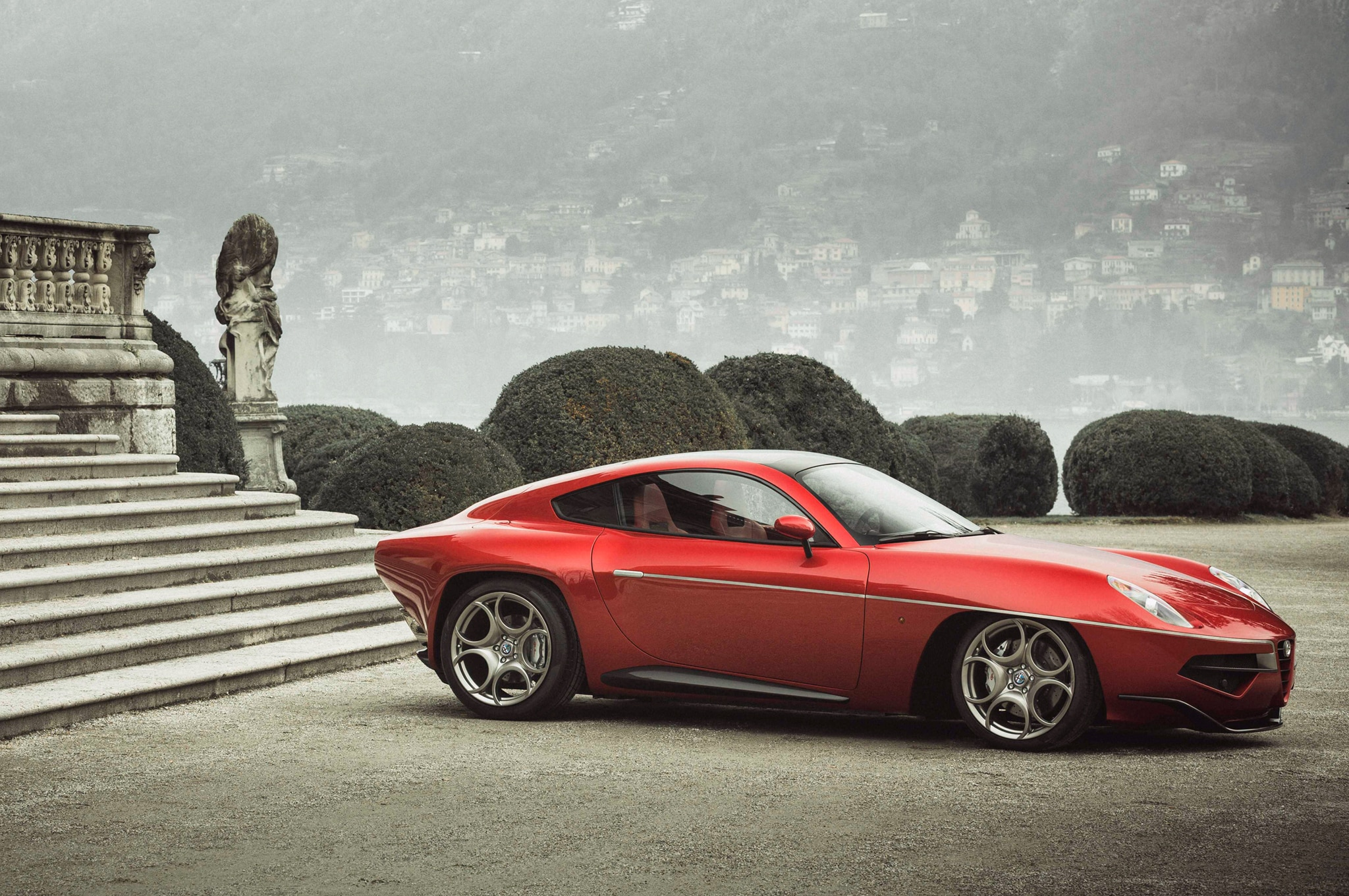 Alfa Romeo 8C-Based Disco Volante Going Into Limited