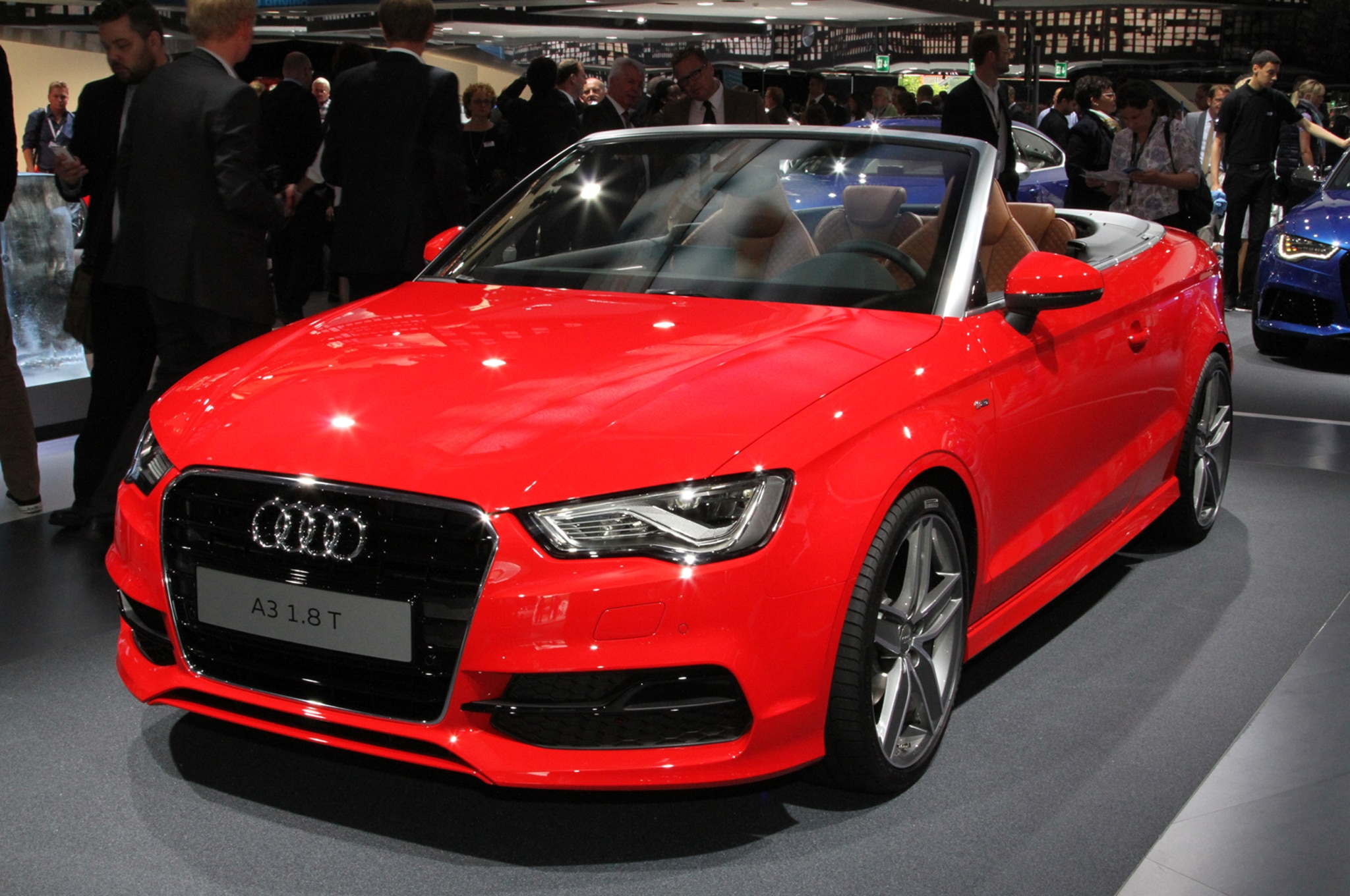Audi A3 Cabriolet Front Three Quarters2