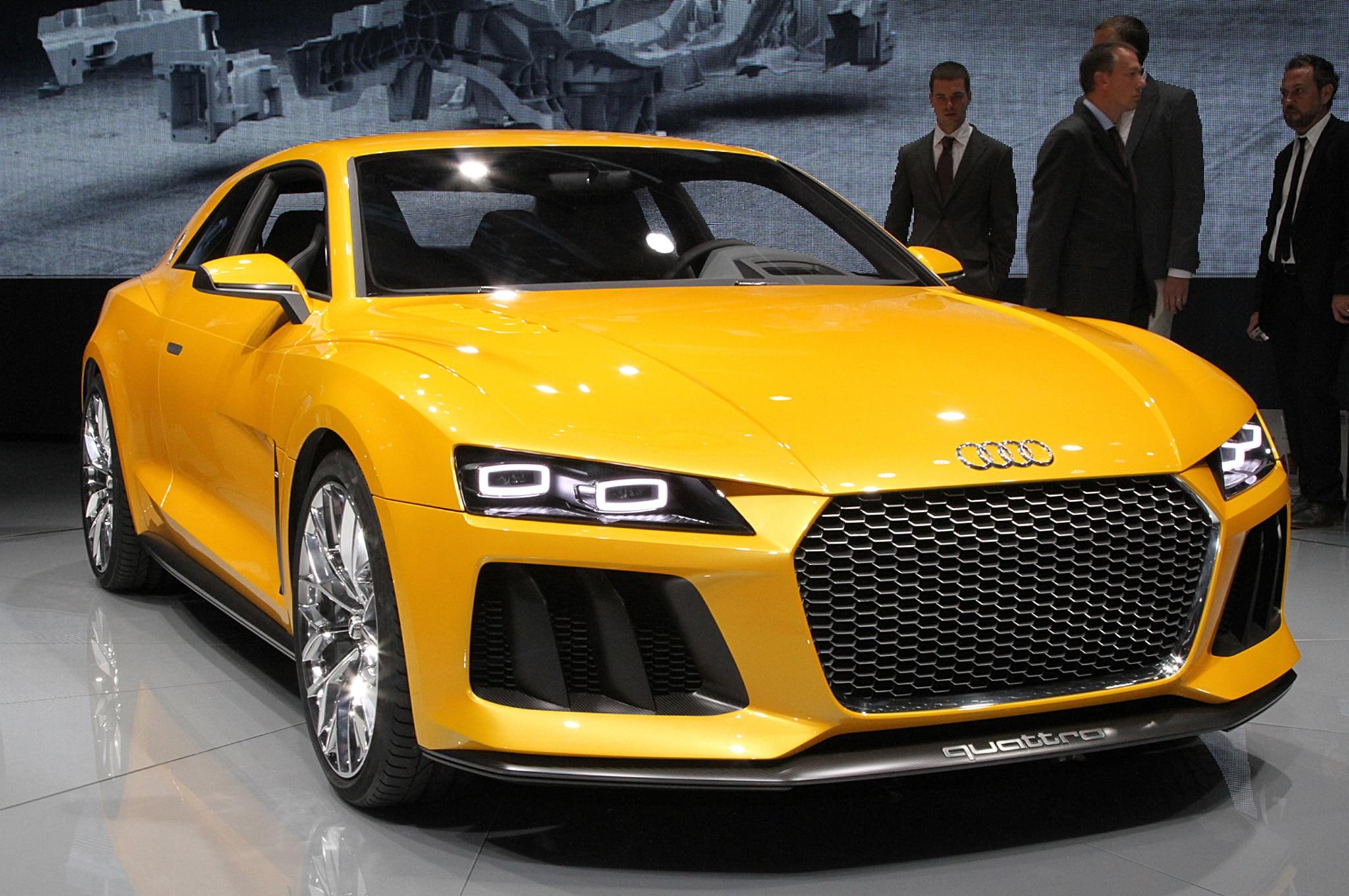 Audi Sport Quattro Hybrid Concept Front End1