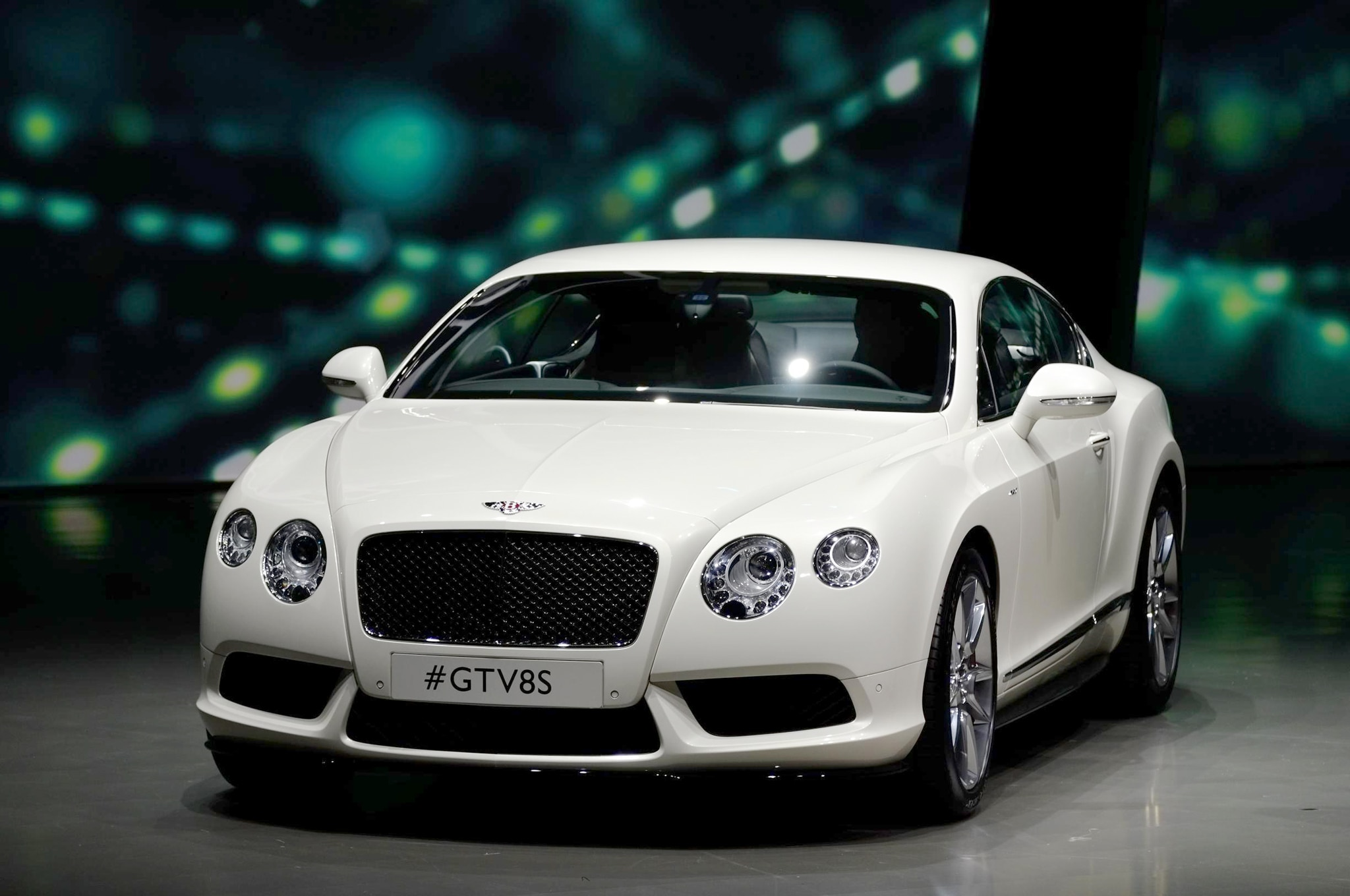 Bentley Continental V8 S Front End 031
