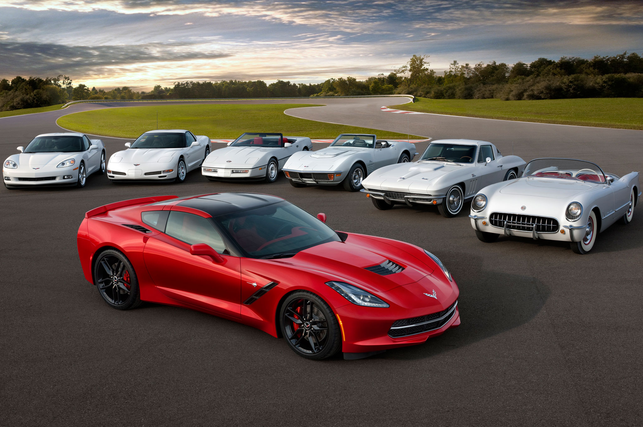 Chevrolet Corvette 7 Generations1