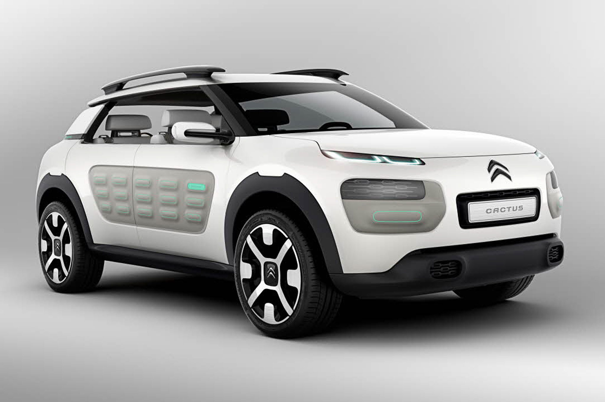 Citroen C Cactus Concept Front Right Side View1