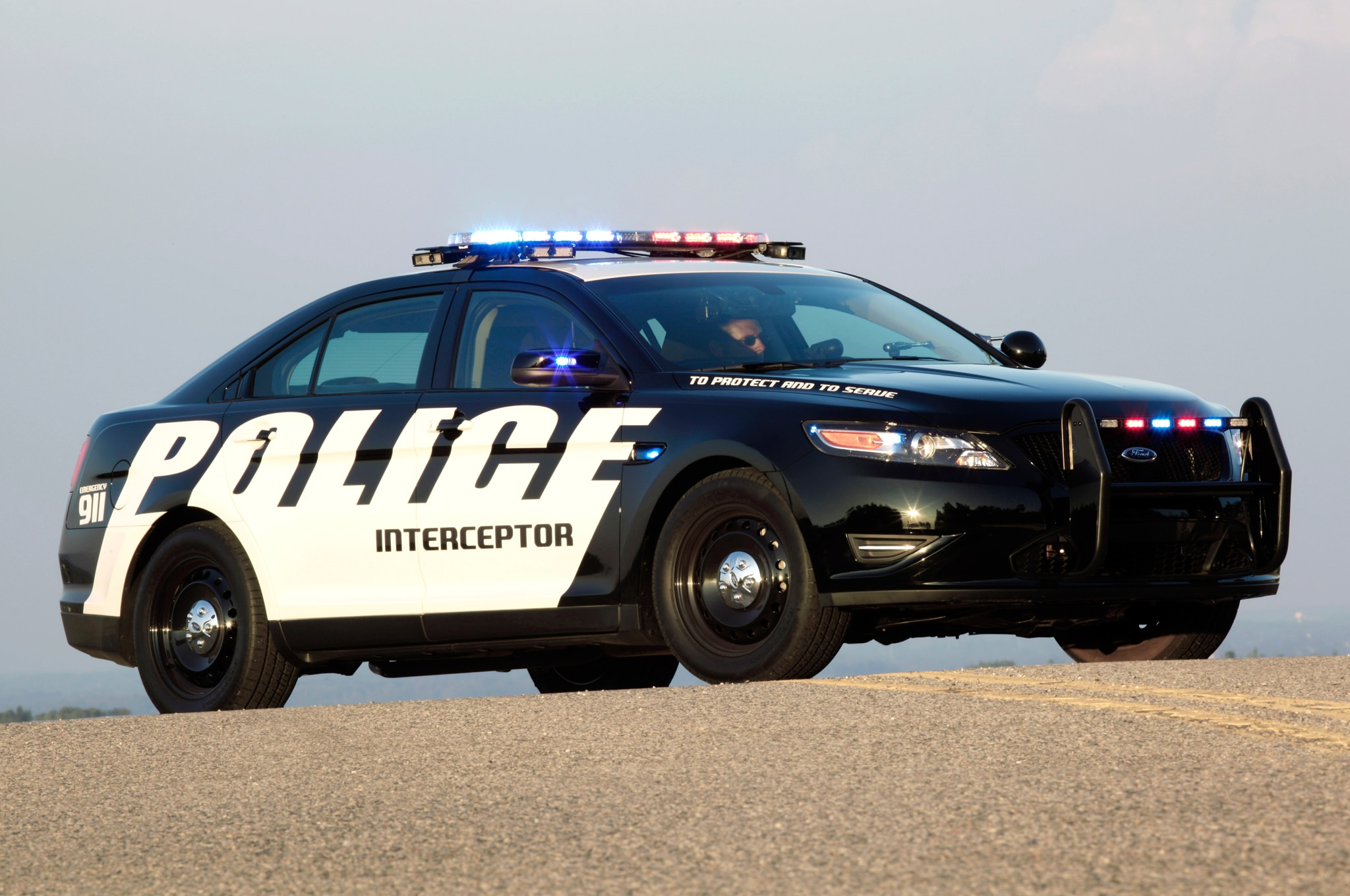 Jake Holmes & Ford Taurus Police Car Now Available With 2.0-Liter Engine markmcfarlin.com