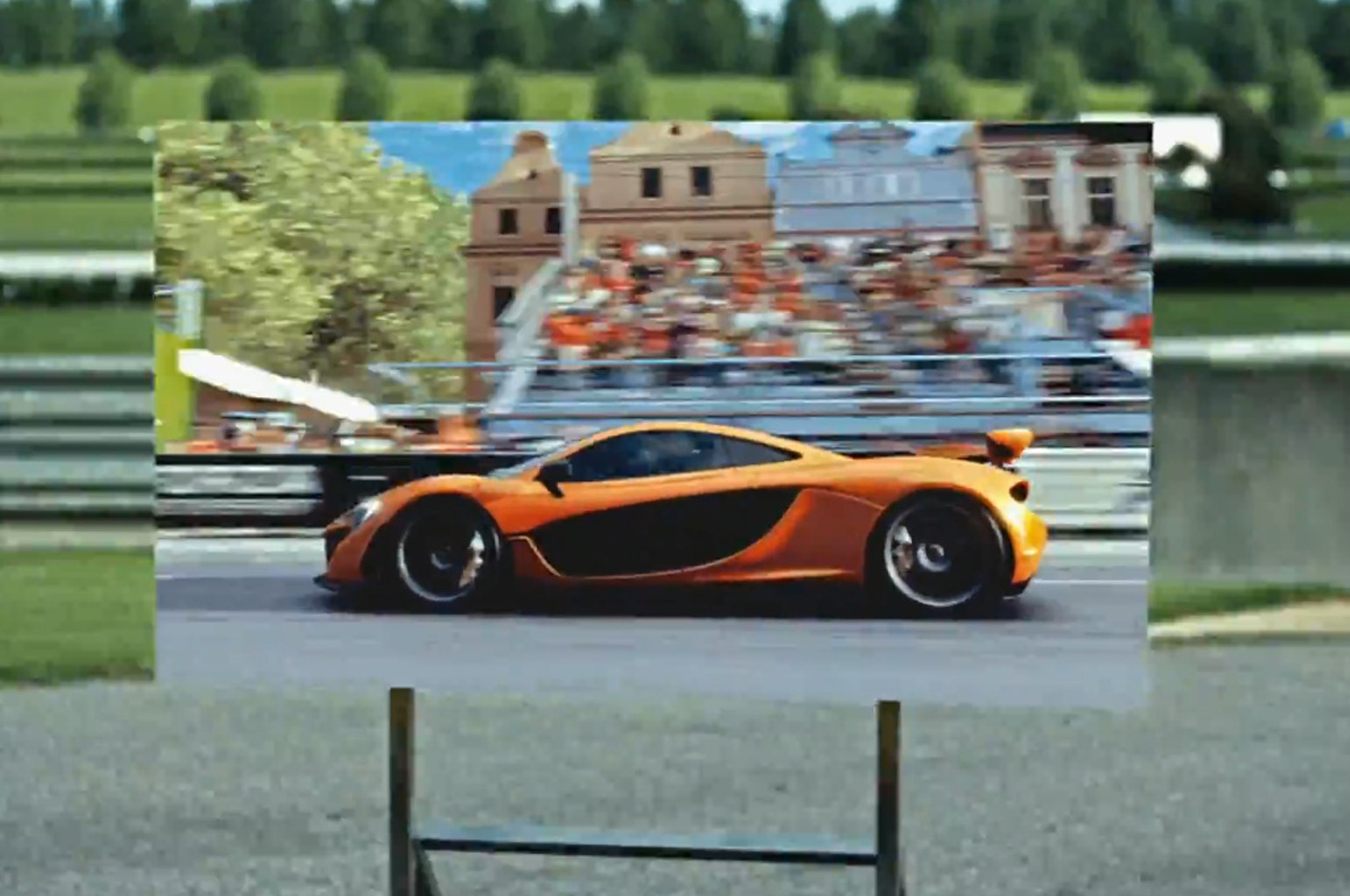 Forza Motorsport 5 Ad Mclaren On Poster1