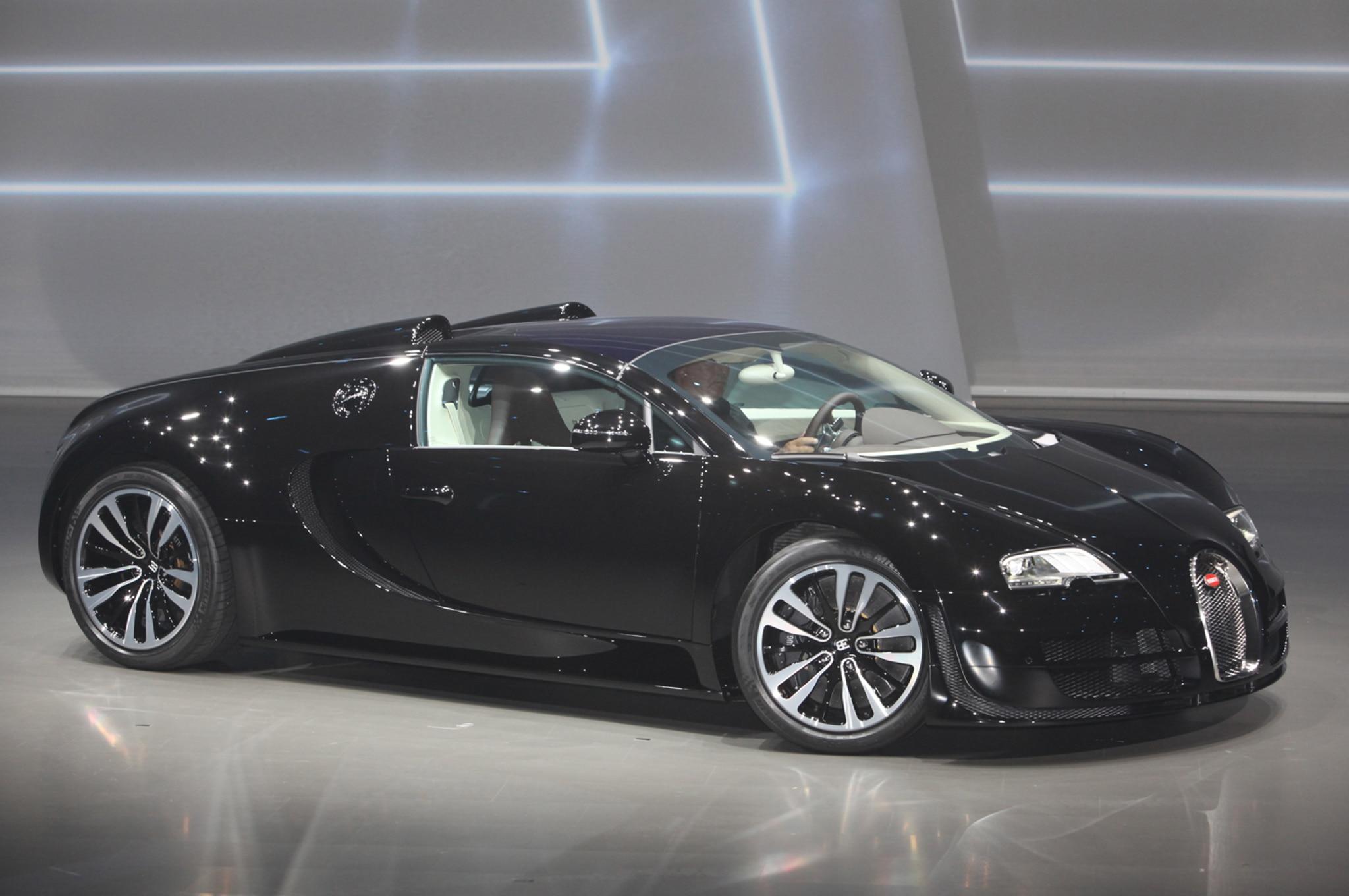 2013 Bugatti Veyron Jean Bugatti Legend Edition First Look ...