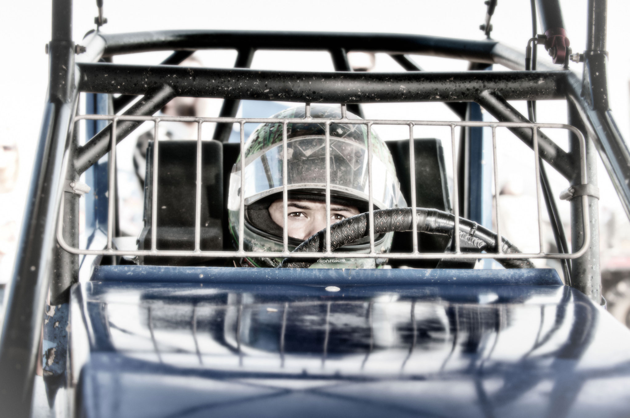 Kyle Larson Behind The Wheel1