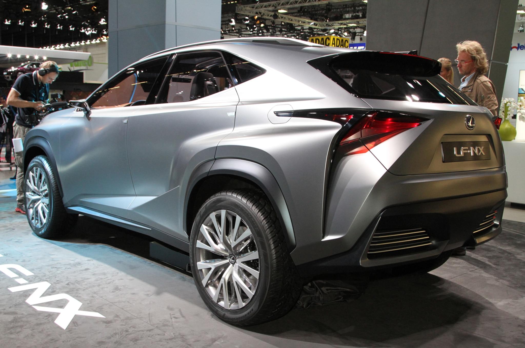 Lexus Lf Nx Concept First Look Automobile Magazine