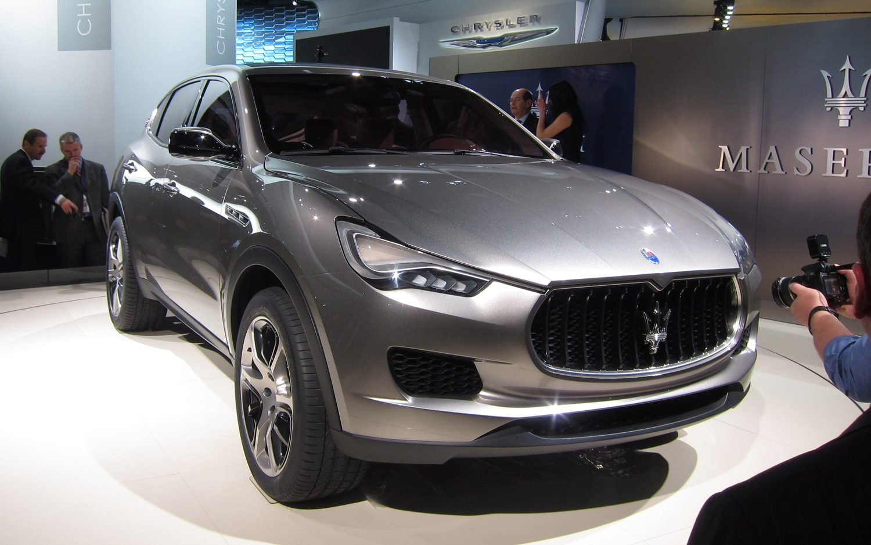 Maserati Kubang Concept Front Three Quarter1