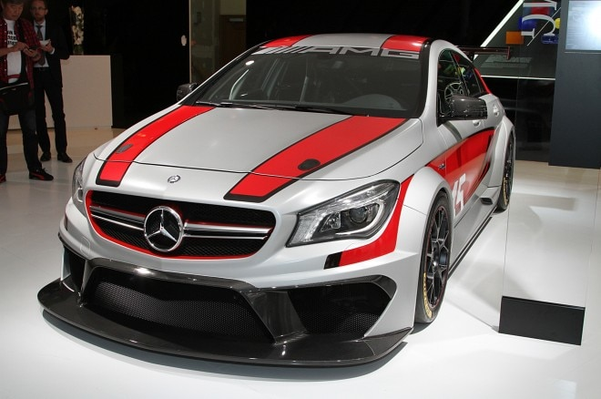 Mercedes Benz CLA45 AMG Racing Series Concept Front Three Quarters1 660x438