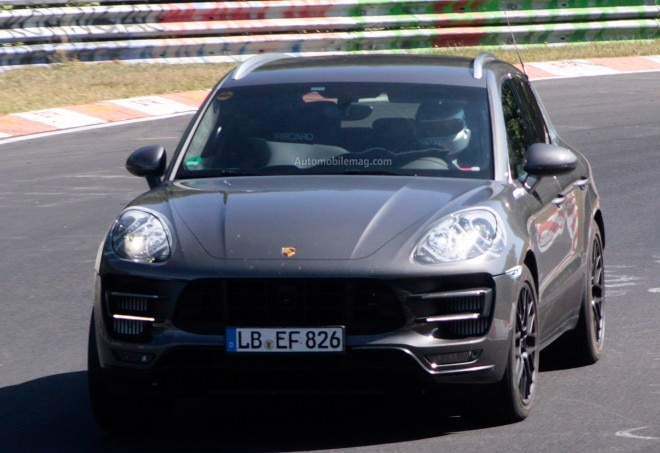 Porsche Macan Turbo Prototype Front Close1 660x453