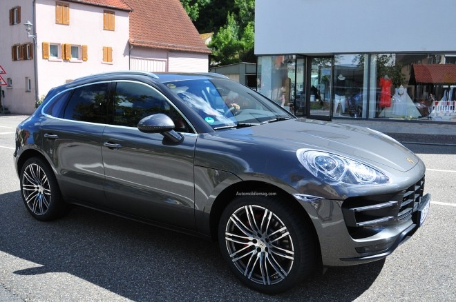 Porsche Macan Turbo Spied Front Three Quarter 41 660x438