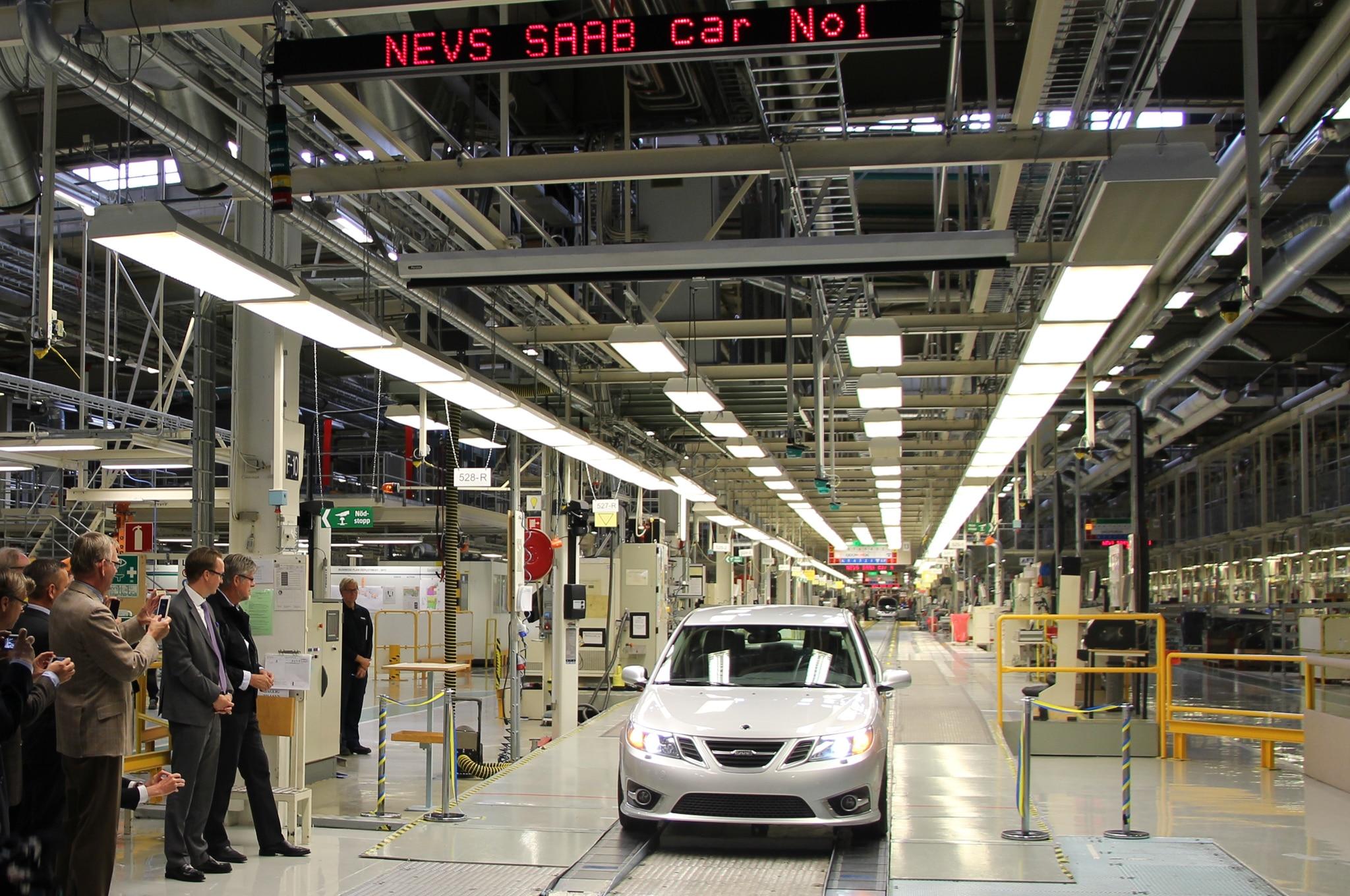 Saab 9 3 Production Line1