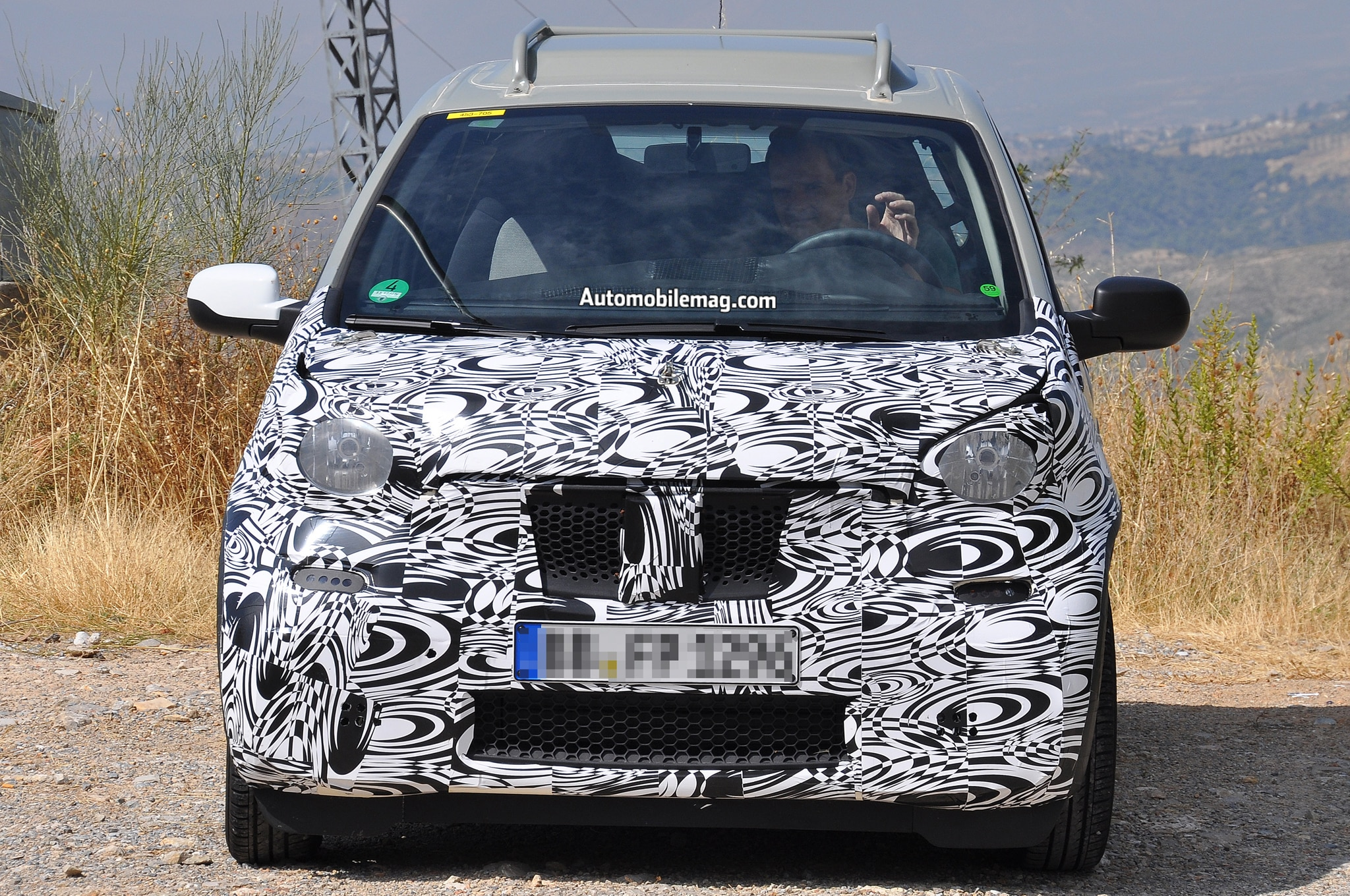 Smart ForTwo Prototype Front End 11