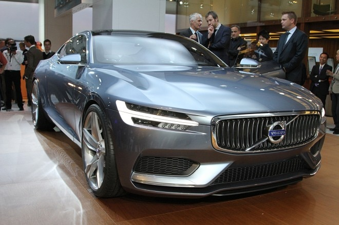 Volvo C Coupe Concept Front Three Quarter1 660x438