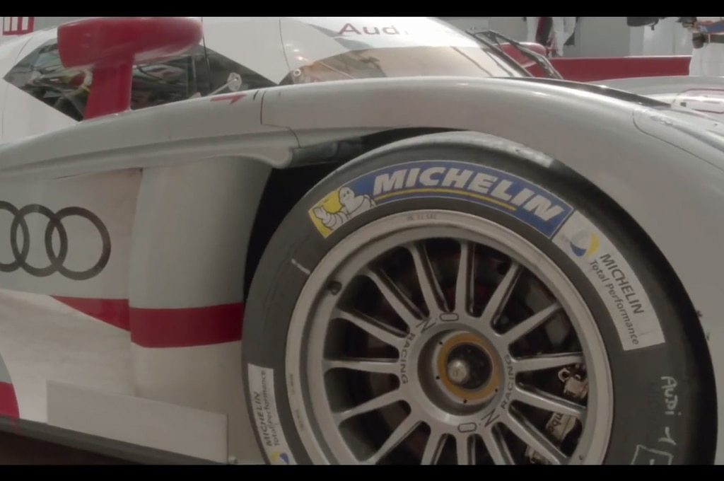 Audi R18 Le Mans Michelin Tires1