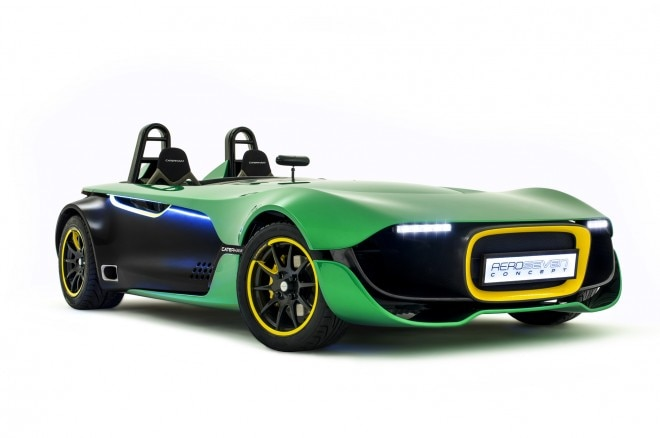 Caterham Aeroseven Front Three Quarters1 660x438