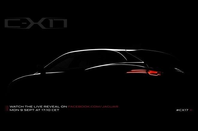 Jaguar C X17 Crossover Teaser 660x438