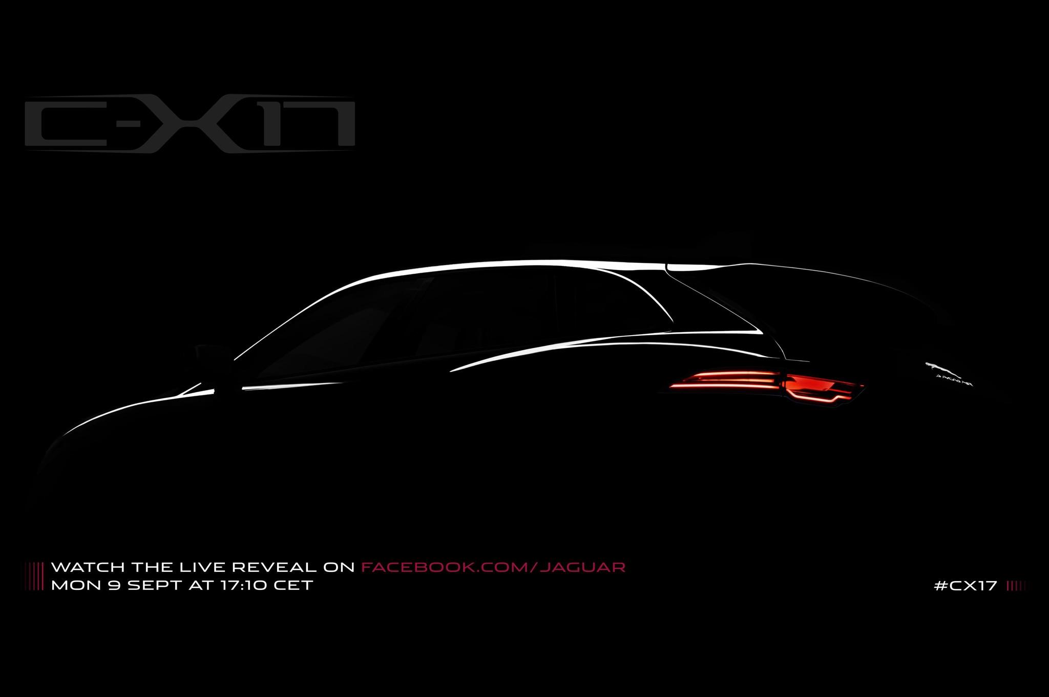 Jaguar C X17 Crossover Teaser