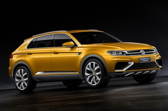 Volkswagen Crossblue Coupe Concept Front Three Quarters1 660x438