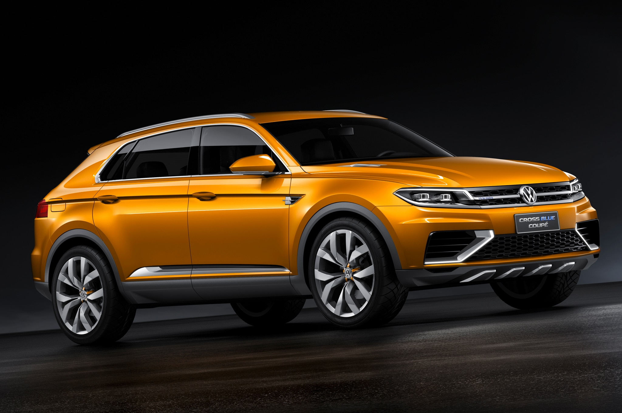 Volkswagen Crossblue Coupe Concept Front Three Quarters1