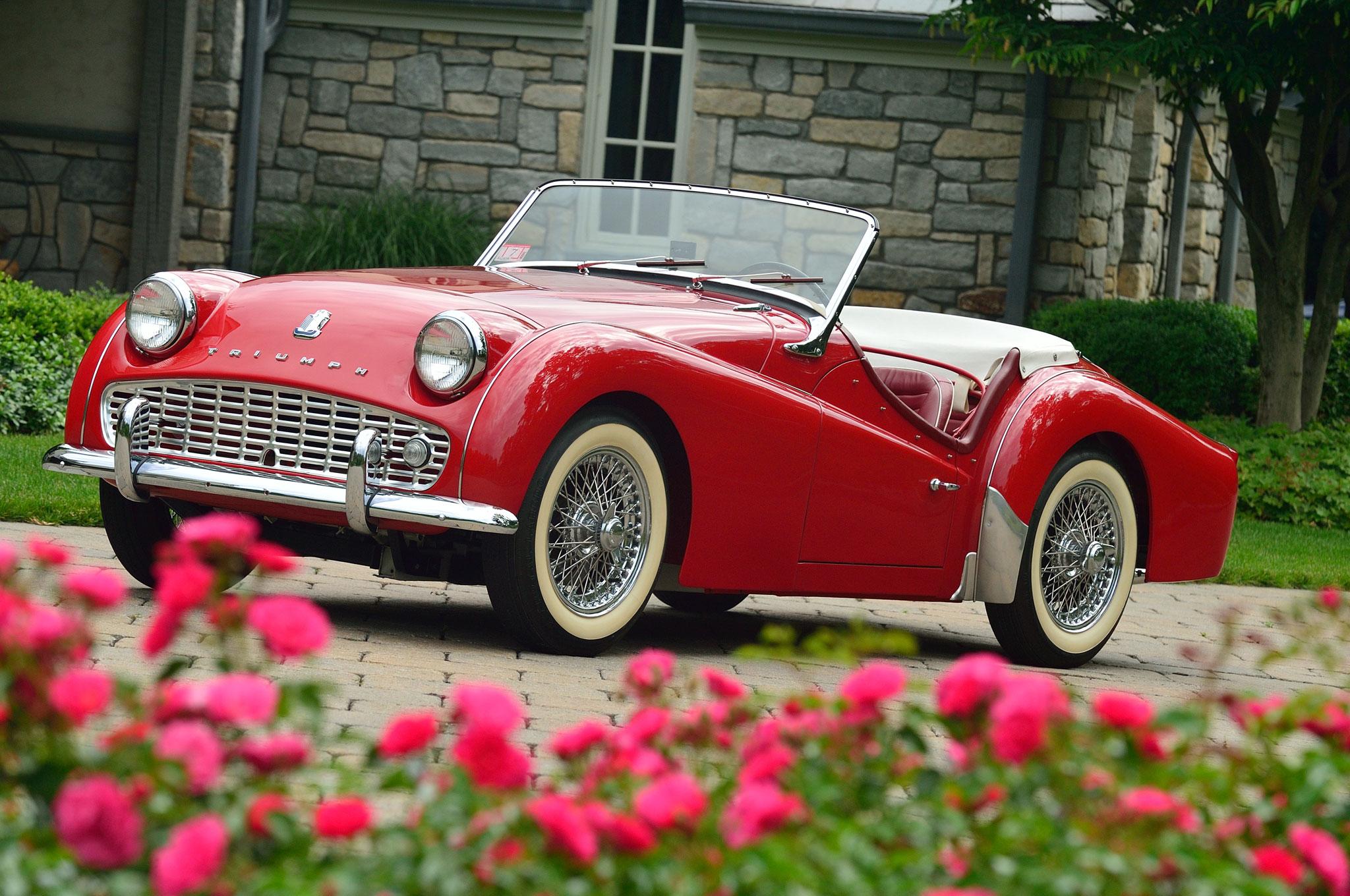 1953 1962 Triumph TR2 TR3 Front Left Side View1