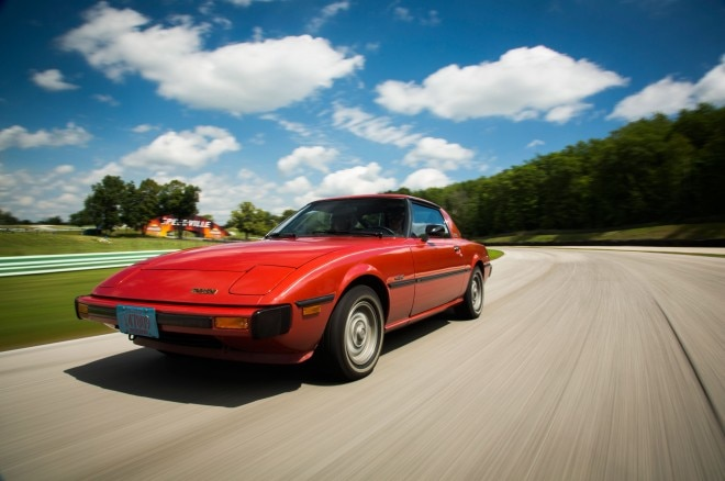 1980 Mazda RX 7 Front Left View1 660x438