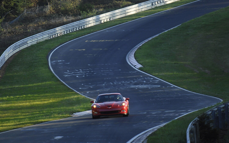 2009 Chevrolet Corvette ZR1 On Ring1