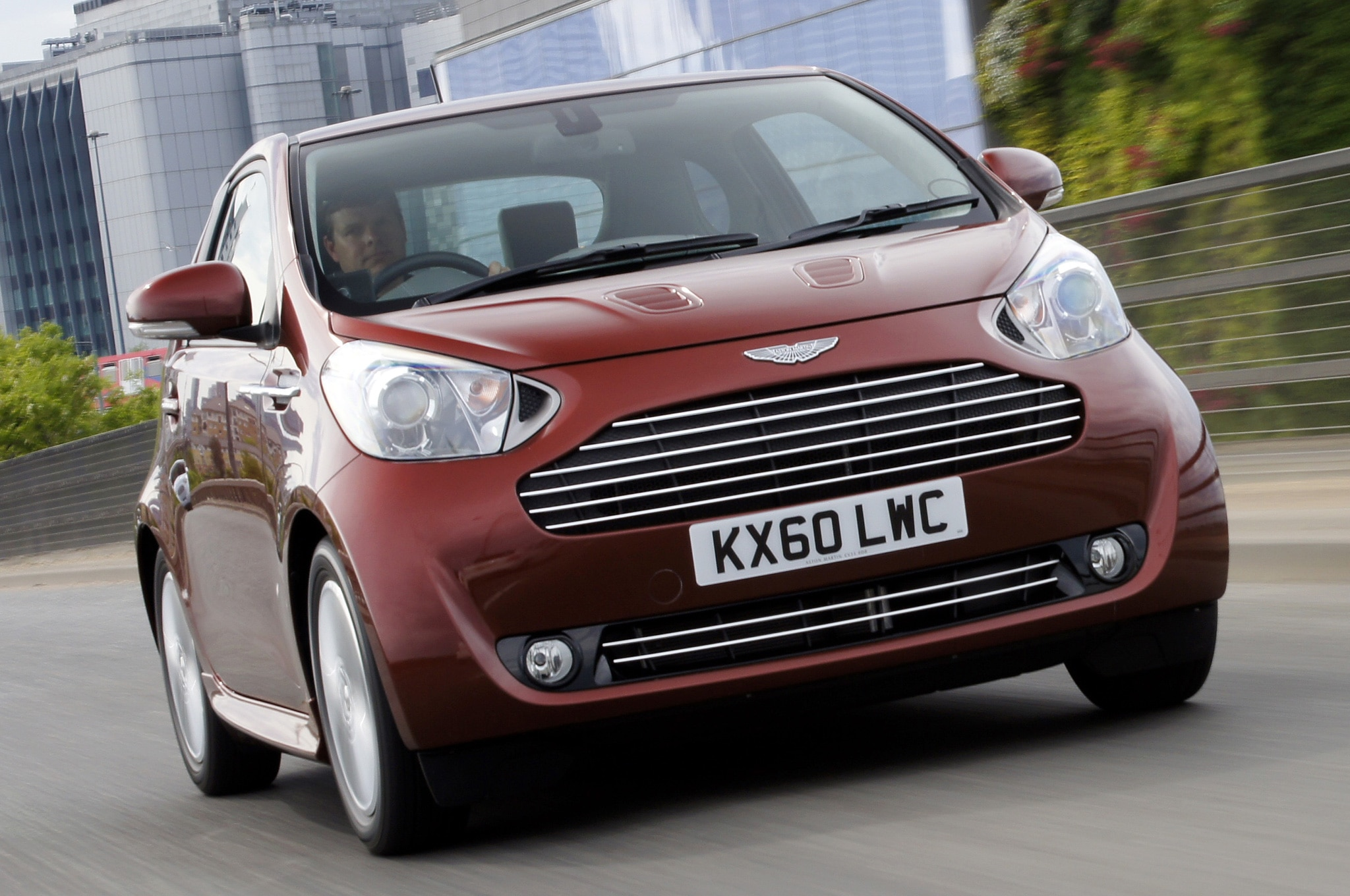 2011 Aston Martin Cygnet Front Three Quarter Motion1