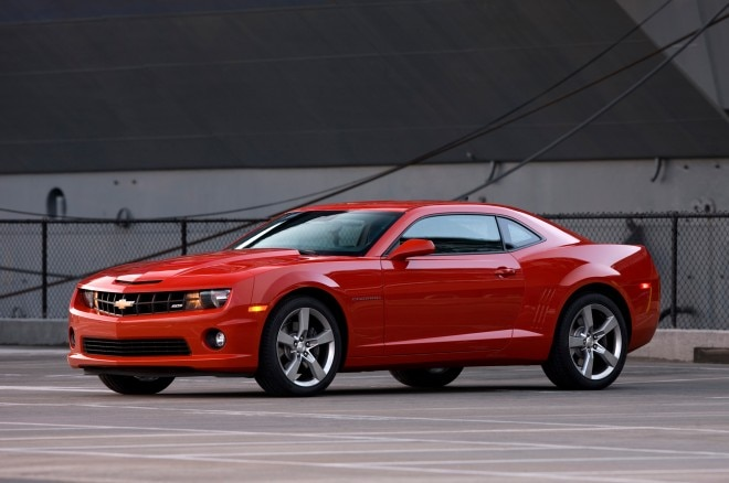 2011 Chevrolet Camaro Red Left Side1 660x438