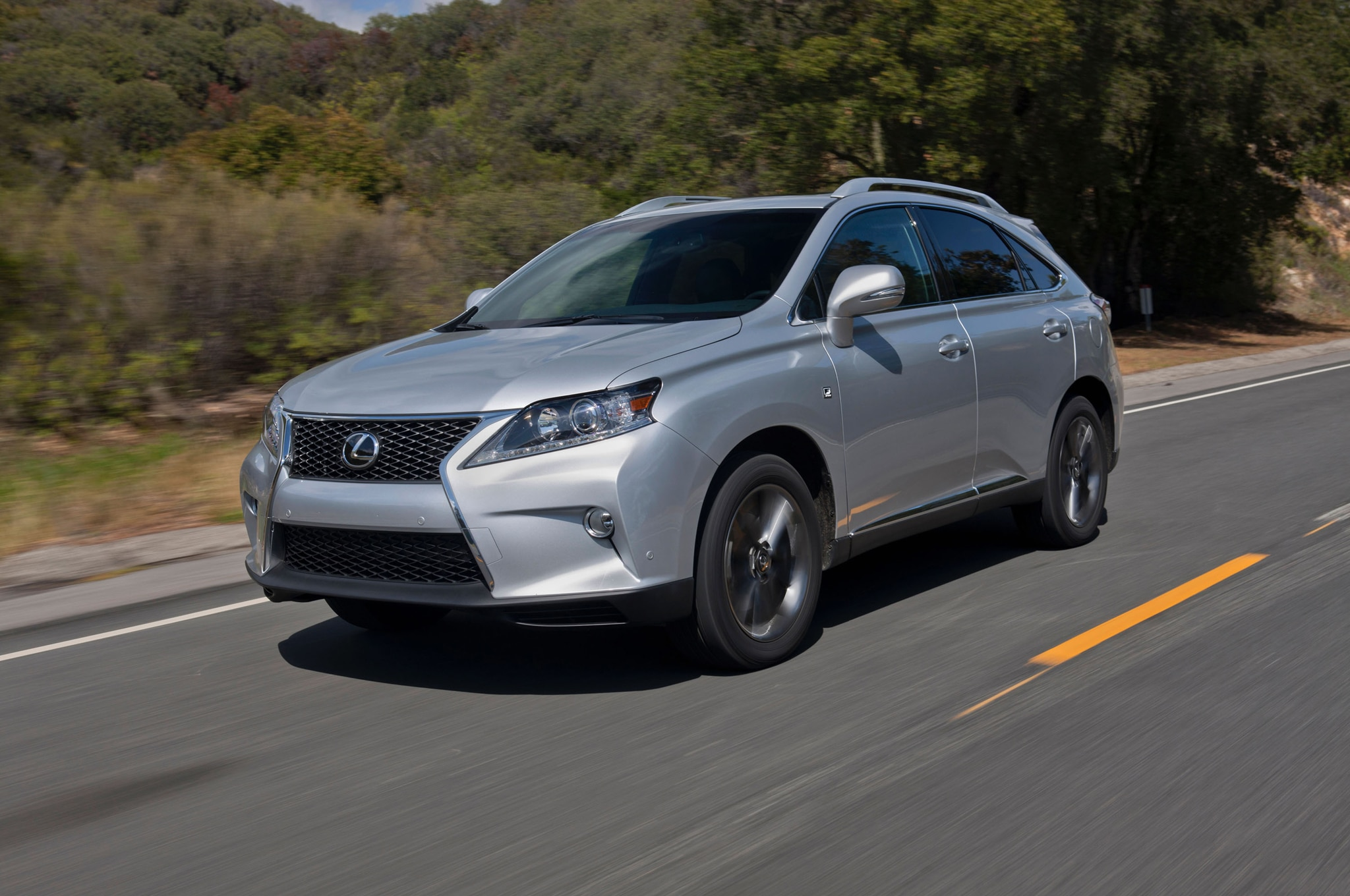 2013 lexus rx 350 f sport first drive - automobile magazine