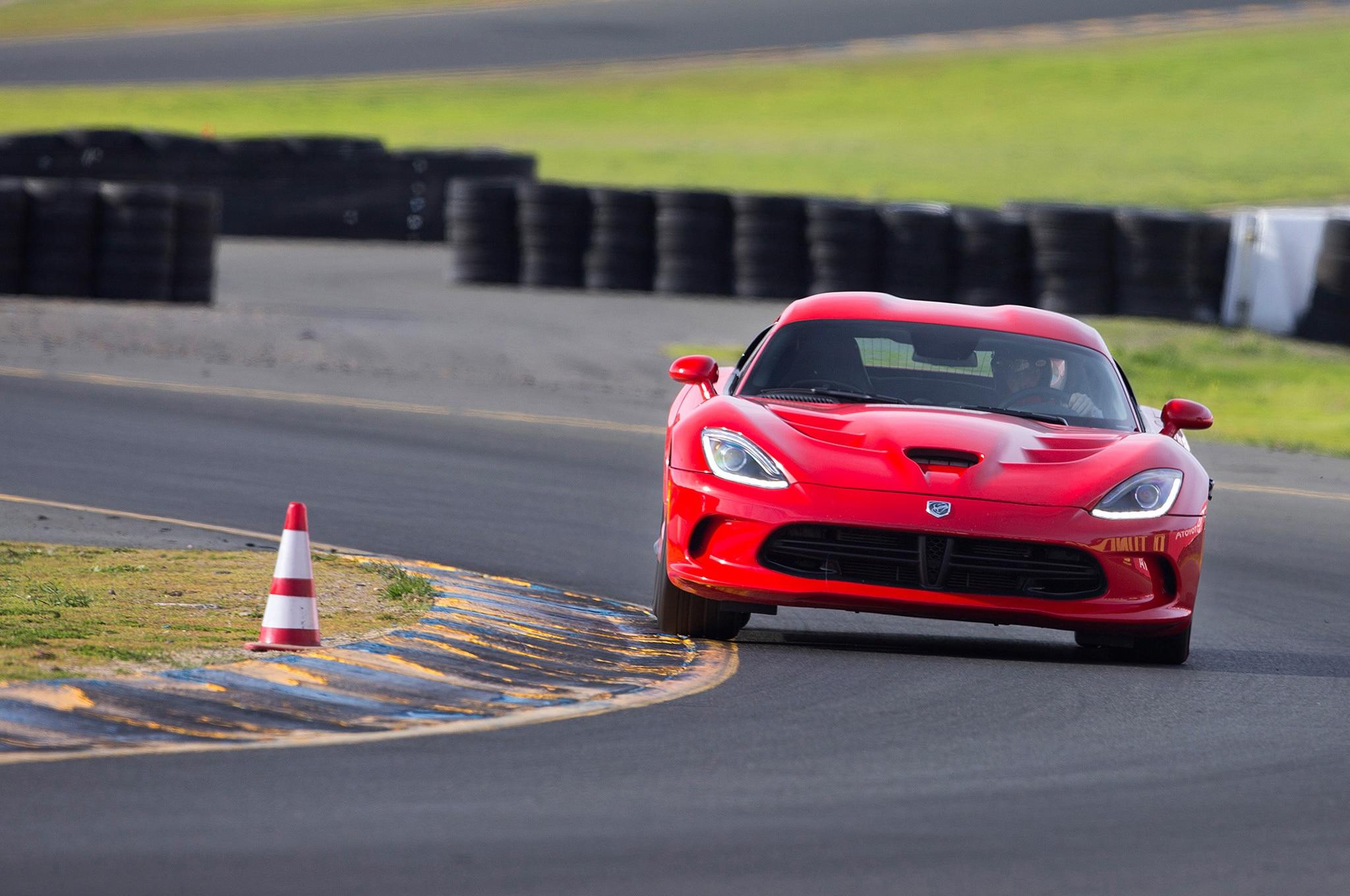 2013 SRT Viper On Track Front