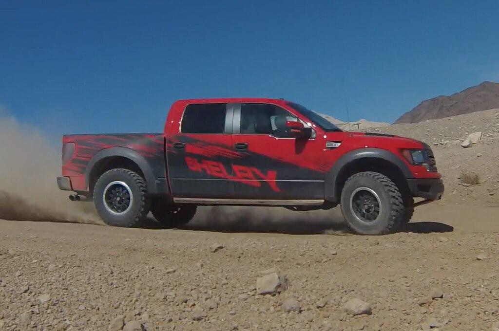 2013 Shelby Ford Svt Raptor Corner Drifting1