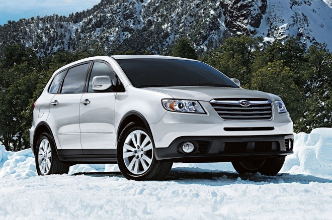2013 Subaru Tribeca Front Three Quarters 211 660x438