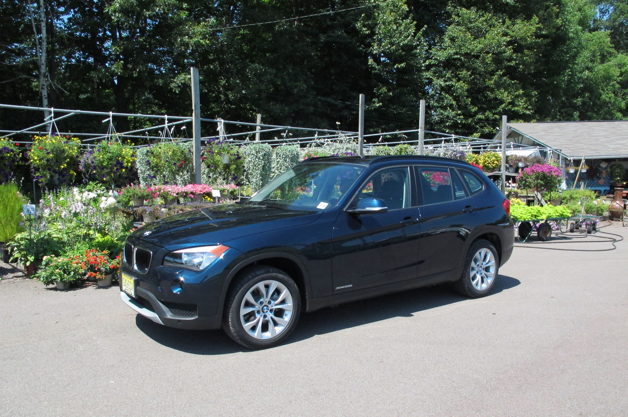 2014 BMW X1 XDrive28i Front Left Side View1