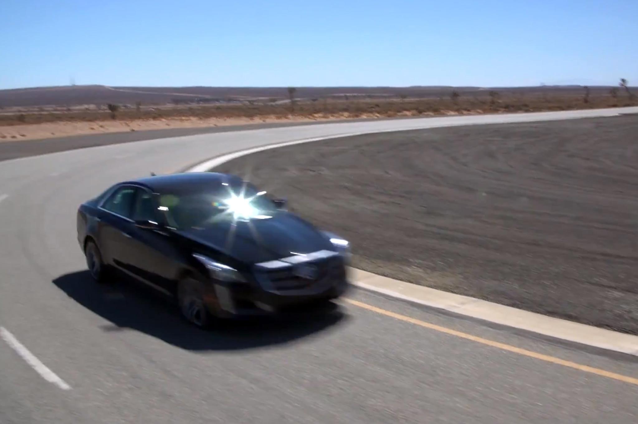 2014 Cadillac CTS Vsport Video
