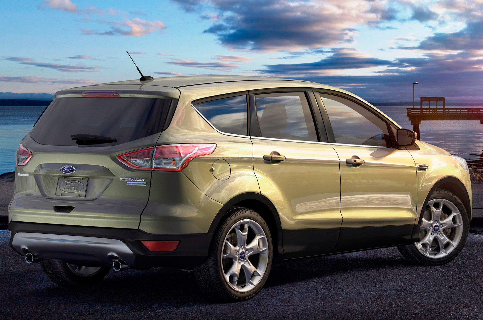 ford escape retakes lead from honda cr v in september sales. Black Bedroom Furniture Sets. Home Design Ideas